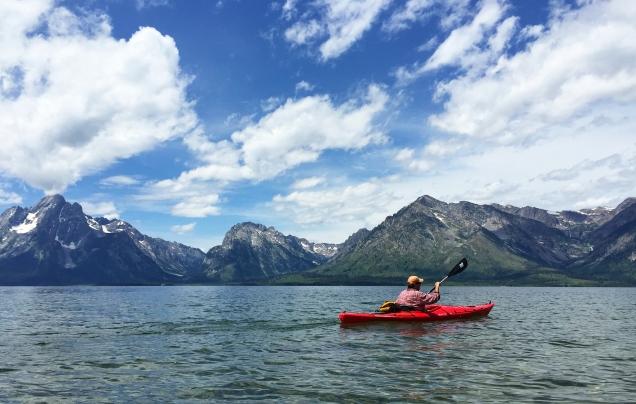 Steve kayak:Jackson L